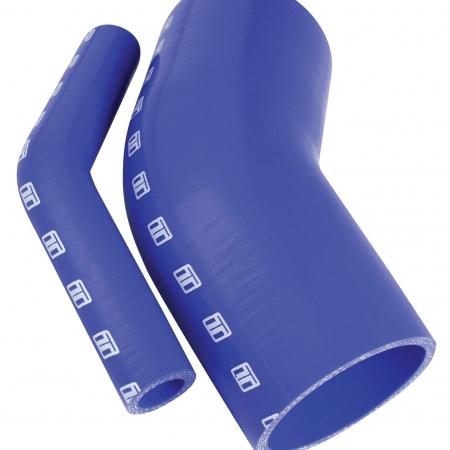 "Turbosmart 45 Silicone Elbow 2.75"" Blue"
