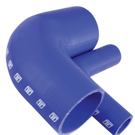 "Turbosmart 90 Silicone Elbow 1.75"" Blue"