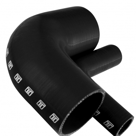 "Turbosmart 90 Silicone Elbow 1.75"" Black"
