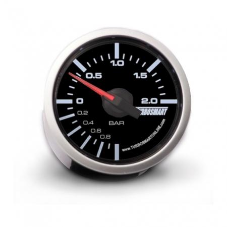 "Turbosmart Boost Gauge 0-2 BAR 52mm - 2 1/16"""