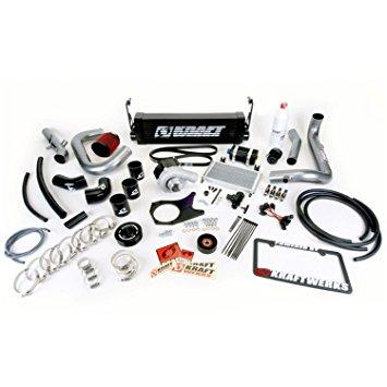 Kraftwerks 06-11 Civic R18 (Coupe) Supercharger Kit- BLACK Head Unit