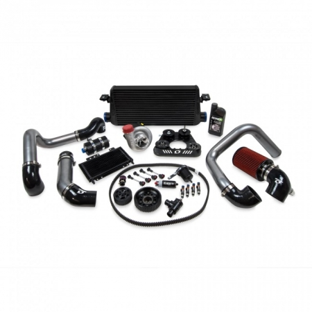 Kraftwerks 06-09 S2000 30MM Supercharger Kit AP BLACK Head Unit