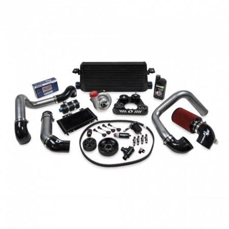 Kraftwerks 06-09 S2000 30MM Supercharger Kit AP2 W/ FlashPro- BLACK Head Unit