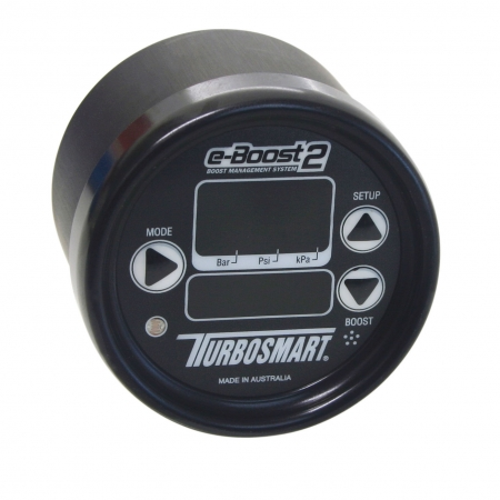 Turbosmart eB2 66mm e-Boost Gauge - Black