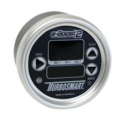 Turbosmart eB2 66mm e-Boost Gauge - Black Silver