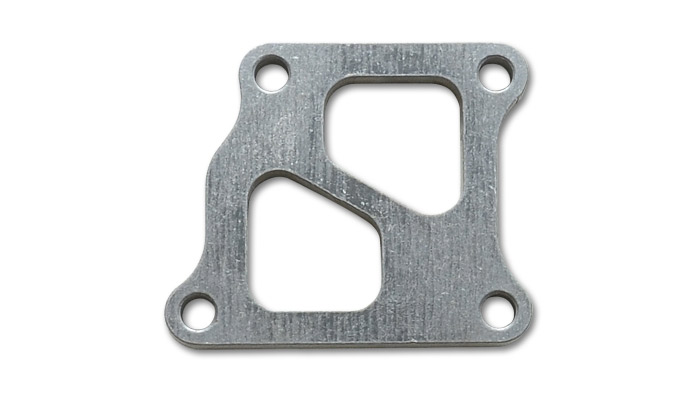 Vibrant Turbo Inlet Flange for EVO 7,8,9 - Mild Steel (12mm thick)