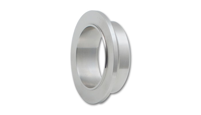Vibrant T304 Stainless Steel V-Band Inlet Flange (20.37mm Thick)