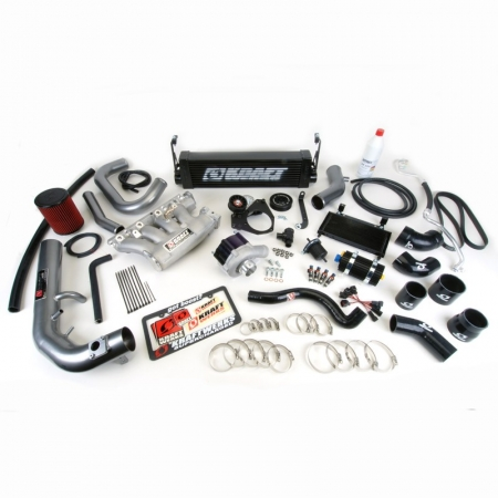 Kraftwerks 06-11 Civic Si Supercharger Kit - BLACK Head Unit