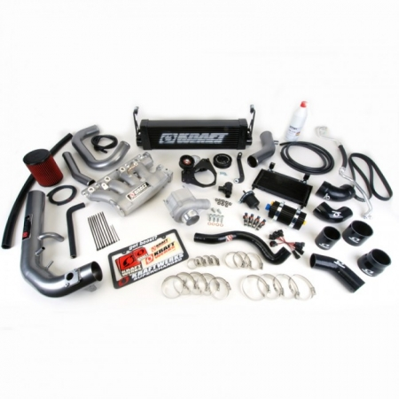 Kraftwerks 12-13 Civic Si Supercharger Kit- BLACK Head Unit