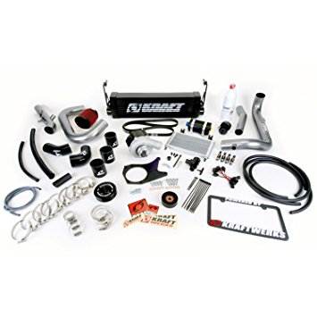 Kraftwerks 06-11 Civic R18 (Coupe) Supercharger Kit- BLACK Head Unit