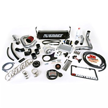 Kraftwerks 06-11 Civic R18 (Coupe) Supercharger Kit W/ Flashpro - BLACK Head Unit