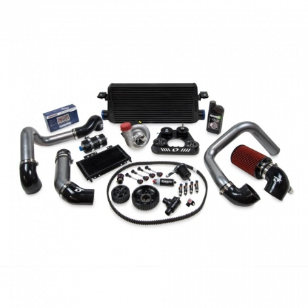 Kraftwerks 06-09 S2000 30MM Supercharger Kit AP2 W/ FlashPro- BLACK Head Unit