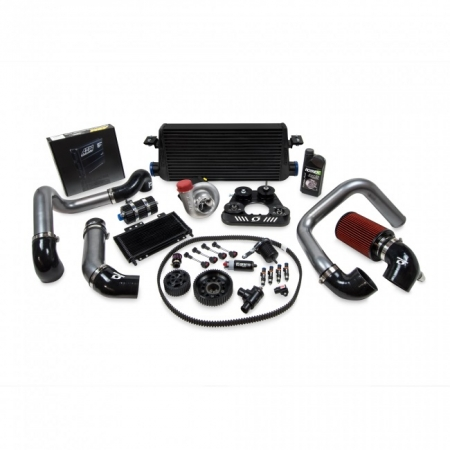 Kraftwerks 04-05 S2000 30MM Supercharger Kit W/ AEM V2 - BLACK Head Unit