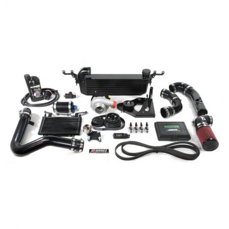Kraftwerks 06-15 Miata NC 2.0 Supercharger Kit with EcuTek cable and License / Tuning- BLACK Head Unit