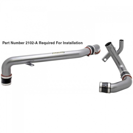 AEM Charge Pipe Kit; MITSUBISHI EVOLUTION X, 2010-2012 (# 2102-B)