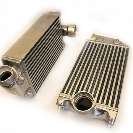 Agency Power High Flow Racing Intercoolers Porsche 997TT 07-09