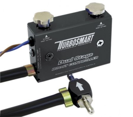 Turbosmart GBCV Dual Stage Boost Controller - Black