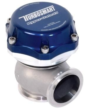 Turbosmart 45mm Hypergate Wastegate - 14psi Blue