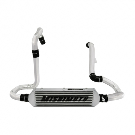 Mishimoto Subaru WRX STI front-mount intercooler kit, W/ Air Box, Silver