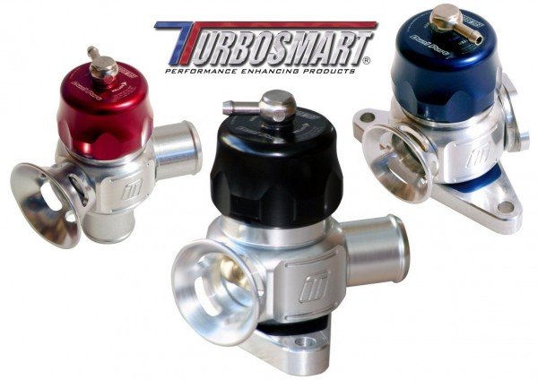 Turbosmart Universal 32mm Dual Port BOV Kit - Blue