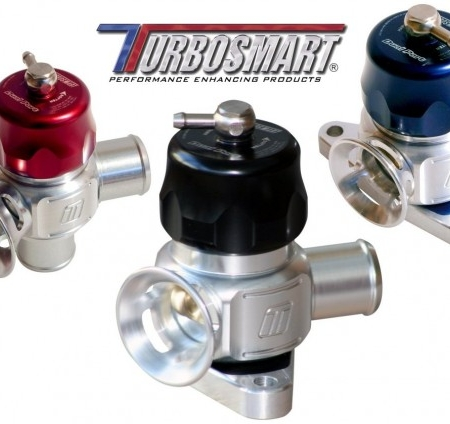 Turbosmart Universal 38mm Dual Port BOV Kit - Blue