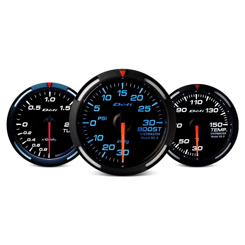 Defi Racer Series Metric 60mm Turbo Si Gauge Blue