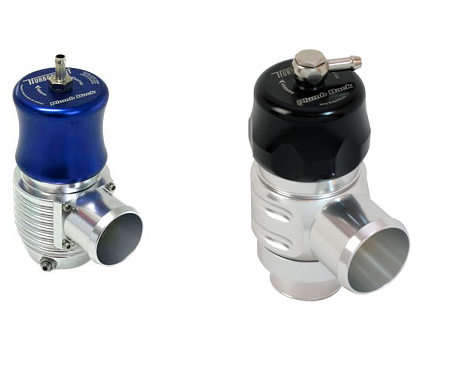 Turbosmart Universal 38mm Plumb Back BOV - Blue